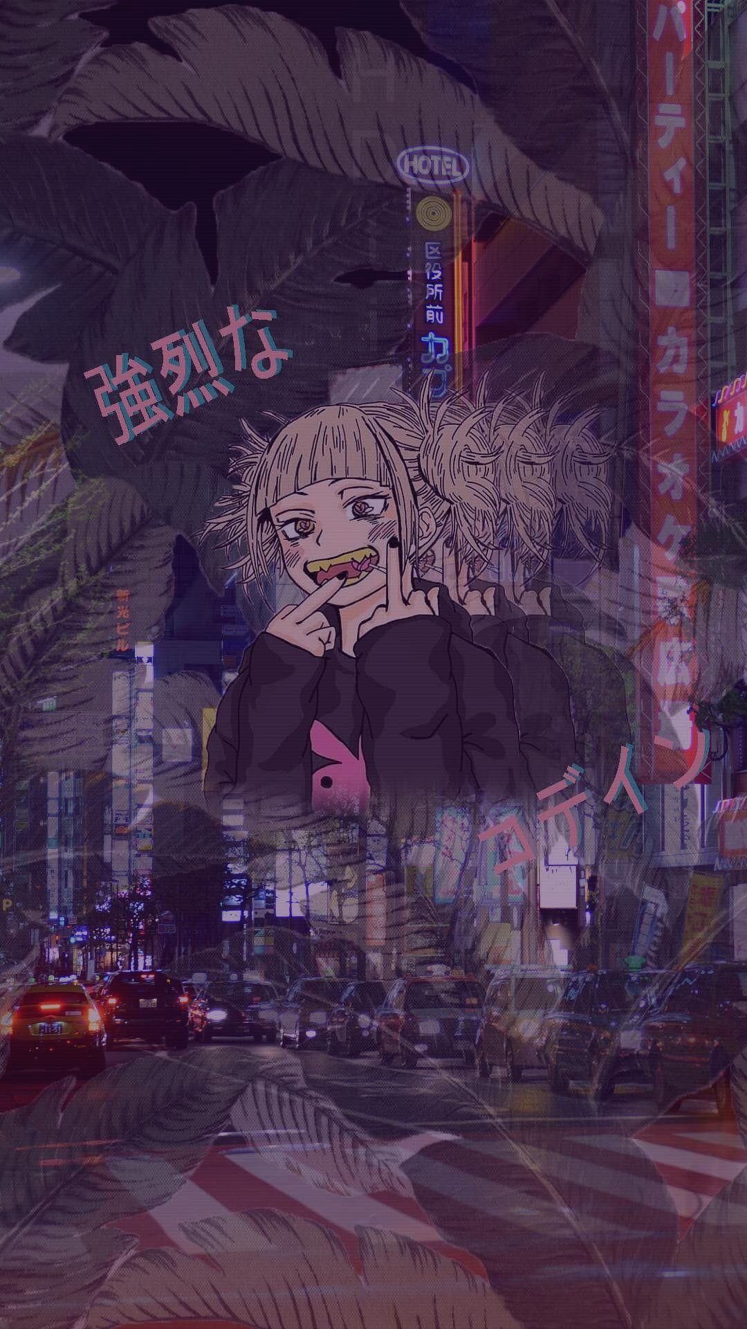 Aesthetic Anime Wallpaper Iphone X